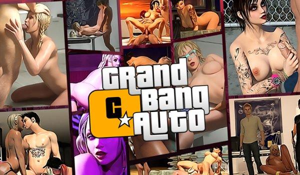 Gangster juego de sexo con la puta en el mundo 3d