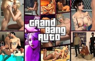 Grand Bang Auto parody sex game online