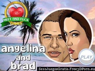 Angelina y Brad celebridades que tienen un sexo vacaciones