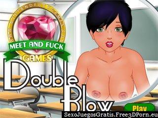 Doble mamada en un juego erótico libre