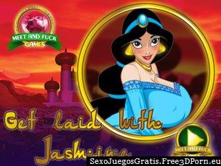 Echar un polvo con Jasmine en los cómics libre juego sexual