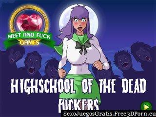 HS de los Fuckers muertos y sexo zombie
