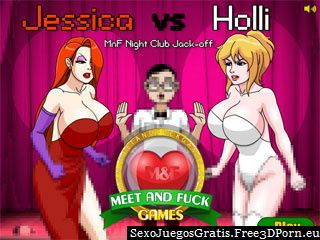 Jessica Holli vs Meet and Fuck juegos flash para adultos