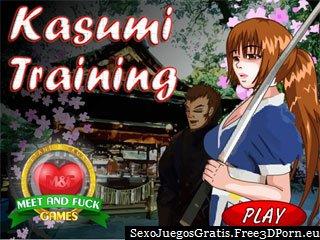 Caliente juego de anime hentai de Kasumi de Dead or Alive