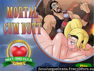 Mortal Cum Butt versión erótica de Mortal Combat
