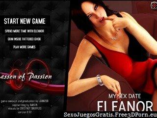 Fecha Sexo juego con un sexy Eleanor