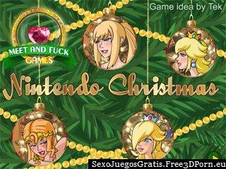 Nintendo Navidad juego sexo lésbico