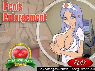 La ampliación del pene de juegos para adultos