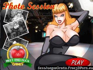 Sesión de fotos eróticas con una rubia tetona