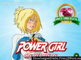 Power Girl: Pity Sex, Titty Sexo juego