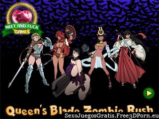 Queens Blade flash juego sexual