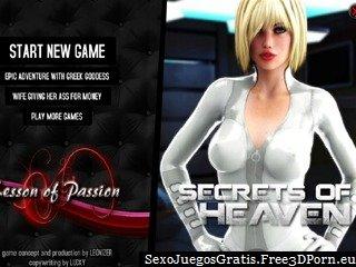 Los secretos de los cielos juego flash sexo