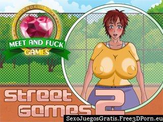 Juegos Street 2 con un juego sexual cuerda de saltar