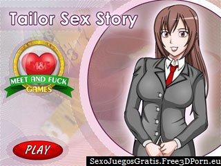 Sastre Sexo historia con una atractiva medida puto juego