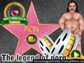 La leyenda de la pornografía con Ron puta estrellas porno