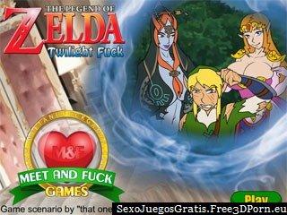 The Legend of Zelda Twilight porno juego en línea