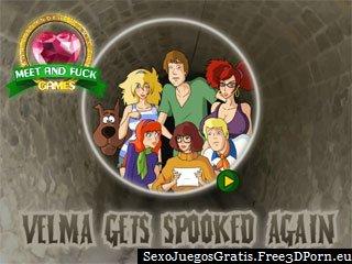 Velma se asusta de nuevo Scooby-Doo juego sexual