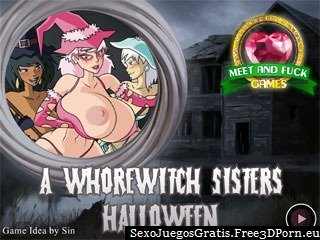 Juego en flash porno - Whorewitch sisters halloween