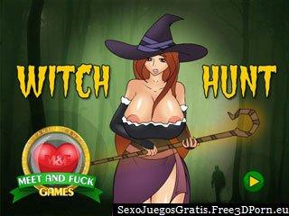 Caza de brujas para encontrar esclavos sexy para follar